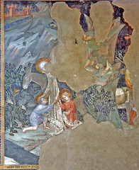 Salimbeni - The young John meets the holy family in the wilderness (petrus.agricola) Tags: lorenzo jacopo salimbeni scenes life saint john baptist urbino marche italy oratorio san giovanni battista