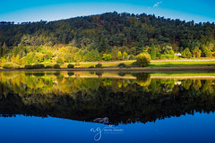 Autumn in Glendalough (Pastel Frames Photography) Tags: glendaloughwicklow autumn colours reflections lake trees stillness beauty nature ireland outdoors national park fujifilm xt10