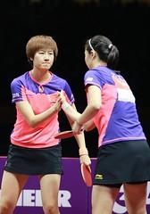 DING_Ning_LI_Xiaoxia_WTTC2015_R_G_6251r (ittfworld) Tags: world sport ball championship shanghai emotion action young tennis tabletennis junior championships chine