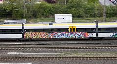 WU_Steinbeck_40_JunkQuake (Versus Grau) Tags: streetart train graffiti junk quake wuppertal steinbeck eurobahn