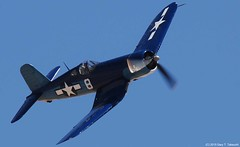 Planes of Fame Air Show 2015 - Goodyear FG-1D Corsair; BuNo. 67087,  N11Y (g_takeuchi) Tags: planesoffame airshow 2015 chino cno california warbird warbirds airplane airplanes plane planes aircraft aviation flying airworthy flyable wentworth goodyear fg1d fg1 corsair 67087 n11y dsc2748c war worldwarii wwii worldwar2 ww2 airport chinoairport kcno
