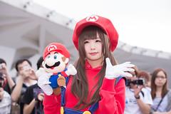 P63_005 (ms09Dom) Tags: cosplay コスプレ マリオ pf22 五木あきら itsukiakira