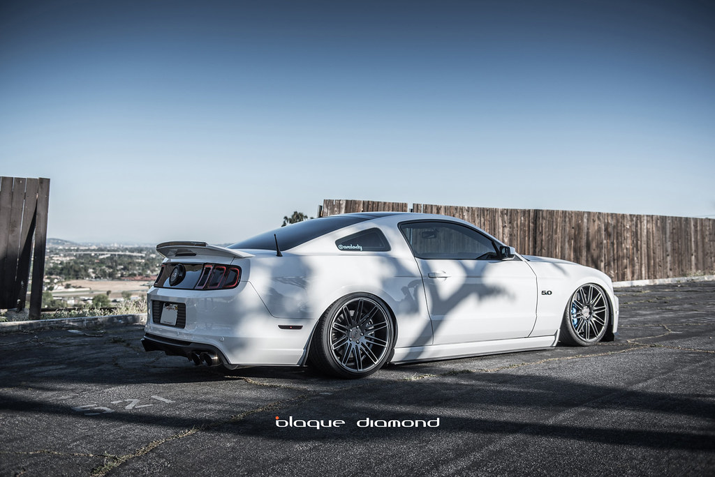 Blaque Diamond Bd 2 2014 Ford Mustang Gt