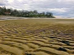 Beverly Cove (Don Ferber) Tags: ocean sky beach clouds sand massachusetts coastal shore northshore beverly effect donferber