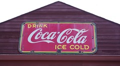 Drink Ice Cold Coca Cola (jmaxtours) Tags: ontario sign lakeerie coke cocacola ont oldsign on icecold portburwell portburwellontario