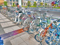 Spring in Tokyo=25 (tiokliaw) Tags: world city blue friends holiday colour reflection travelling beautiful beauty japan digital photoshop wonderful tokyo interesting fantastic nikon scenery holidays colours exercise earth expression object awesome transport perspective entrance images parade explore walkway winner greatshot imagination sensational recreation greetings colourful railing discovery hdr finest overview creations excellence addon highquality inyoureyes teamworks digitalcameraclub supershot recreaction hellobuddy mywinners mywinner worldbest anawesomeshot aplusphoto flickraward almostanything goldstaraward thebestofday flickrlovers nikonflickraward sensationalcreations blinkagain burtalshot