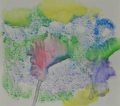 Floral Abstract (BKHagar *Kim*) Tags: flowers abstract art floral watercolor painting artwork paint bkhagar