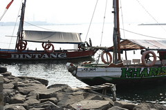 IMG_9208 (chintyanur) Tags: beach indonesia boats jakarta ancol fishermanboat