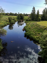 Laihia River at Isokyl (Timo Halonen) Tags: water river nokia vesi joki n95 ostrobothnia etelpohjanmaa carlzeisslens laihianjoki