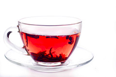 Cup of tea with teabag over white (lyule4ik) Tags: red white black hot reflection cup water glass bag healthy afternoon time crystal tea drink background object empty beverage pot health mug teapot concept transparent diet conceptual popular liquid healthcare teabag isolated