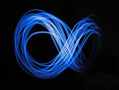 Light and Time (francesco.piove) Tags: longexposure light lightpainting dark time infinity space