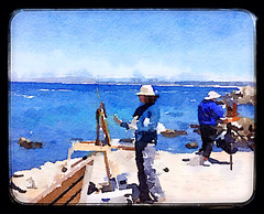 Painters (smacss) Tags: painting artists painters waterlogue