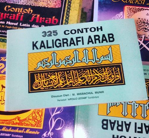 Bukukaligrafi 325 Contoh Kaligrafi Arab Penerbitapollosurabaya