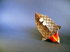 Rocket - Yara Yagi (Rui.Roda) Tags: origami rocket papiroflexia yara yagi cohete fuse rakete foguete fogueto papierfalten