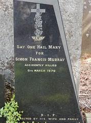 Say a Hail Mary for Simon Francis Murray (mikecogh) Tags: dublin dead religious catholic prayer graves quaint glasnevincemetery simonfrancismurray