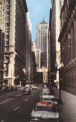 Board of Trade Building - Chicago, Illinois (The Cardboard America Archives) Tags: cityview chicago illinois vintage postcard finance
