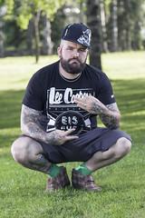 My Bro (Joonas Marjo) Tags: tattooed brother loco flash photography canon 7dmarkii 7dmark2 7d2 70200mmf4isusm