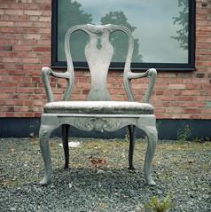 The Chair (rotabaga) Tags: sverige sweden värnamo lomo lomography lubitel166 kodak porta160 mediumformat mellanformat 120 6x6