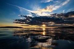 Good night my friends (yarin.asanth) Tags: sunset lake water night golden evening sundown silence rays yarinasanth gerdkozik
