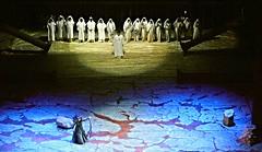 """Aida"" by Giuseppe Verdi - Royal San Carlo Theatre in Naples, up to August 2, 2016 (Carlo Raso) Tags: aida giuseppeverdi sancarlotheatre naples italy opera"