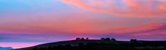 Twilight Time (explore) (philipleemiller) Tags: landscape nature d800 sunsets trees ridgetop panorma carmel california soberanesfire explore