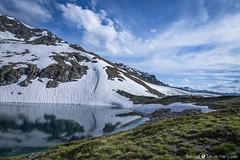 -* Past Winter *- (samuel.devantery) Tags: summer sunlight suisse switzerland swiss sweet valais valaiswallis valley valdanniviers lake lakescape