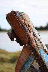Proue (Eric Vinyals) Tags: coque bateau bois rouille