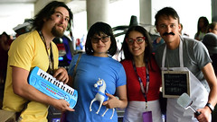 The Belchers (sctag1015) Tags: dragoncon2016 dragoncon nikond7100 cosplay costume fun festival convention family connection pony keyboard burgers mustache burgeroftheday