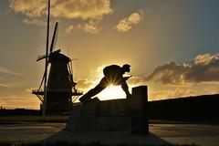 4 comando's monument (Omroep Zeeland) Tags: 4commandos oorlog monument vlissingen walcheren zeeland ondergaandezon natuur zomer
