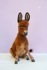 Donkey (kdc123) Tags: donkey furred breyer custom ooak chestnut miniature