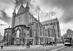 Amsterdam - Nieuwe Kerk (auredeso) Tags: amsterdam nieuwekerk chiesanuova chiesa church bn blackwhite olanda nederlands paesibassi