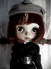 "Blythe-a-Day September#17: Red/Flying: Clara Bow, ""Wings,"" & The Red Baron"