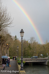 Rainbow, the Nivre (serial_snapper) Tags: france rainbow landscape rpubliquefranaise nivredpartement bourgognefranchecomtrgion cosnecourssurloire bourgognefranchecomt fr