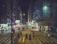 Crosswalk (AngelK32) Tags: northpoint hongkong hongkongisland crosswalk street urban citylights evening dark streetlights asia travel olympusem10 mirrorless microfourthirds 17mmf18 primellens