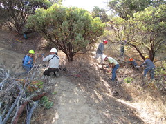 NPLD 2016 at Sterling Mine Ditch Trail (BLMOregon) Tags: bureauoflandmanagement medford blm hiking trail restoration oregon volunteerism npld