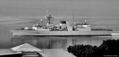 Scotland river Clyde NATO fleet Canadian navy frigate HMCS Charlottetown FFH 339 9 October 2016 by Anne MacKay (Anne MacKay images of interest & wonder) Tags: scotland river clyde nato fleet canadian navy frigate hmcs charlottetown ffh 339 warship xs1 9 october 2016 picture by anne mackay