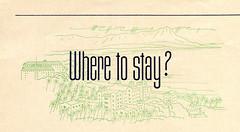 Where to Stay? (jericl cat) Tags: vintage hawaii oahu hawaiian paper ephemera illustration hawaiiana tourism travel ad ads advertising matson line matsonia 1938 cruise liner ocean ship pink palace moana surfrider hotel diamondhead