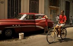 Streets of Havana - Cuba (IV2K) Tags: street bicycle vintage candid sony havana cuba centro motionblur caribbean cuban habana kuba lahabana rx1