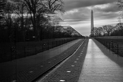 Vietnam War Memorial - Washington DC (RobMatthews) Tags: washingtondc vietnammemorial