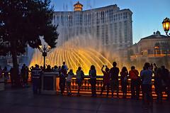 Las Vegas Strip Bellagio Fountains