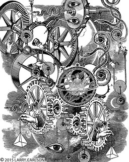 LARRY CARLSON, Astronomica 75, 2015.