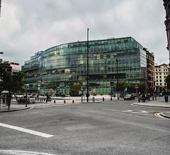Plaza Bizkaia- Bilbao Acero y Cristal (fermin.esparza) Tags: bilbao cristal acero plazabizkaia