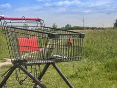 Einkauf auf der Grünen Wiese
