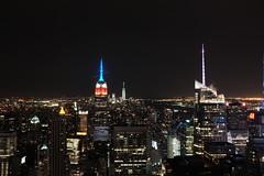 Top of The Rock (Alexpaasch) Tags: longexposure newyork night fuji fujifilm empirestatebuilding topoftherock totr classicchrome x100t