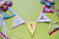 Varal para porta de maternidade (Meia Tigela flickr) Tags: baby bandeira butterfly felt borboleta porta bebê quarto nome manual feltro menina decoração maite maternidade varal bordado enfeite quartinho bandeirolas bordada borboletinhas
