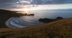 Torimbia (Chin Chinau) Tags: sunset beach atardecer mar asturias playa llanes cantabrico torimbia