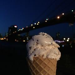 Cone (rickie22) Tags: nyc newyorkcity holiday newyork brooklyn cone icecream brooklynbridge icecreamcone brooklynicecreamfactory iphone5s
