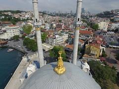 Ortaky Camii from the Air (CyberMacs) Tags: turkey minaret muslim religion mosque cami turkish camii ortaky byk mecidiye ortakycamii