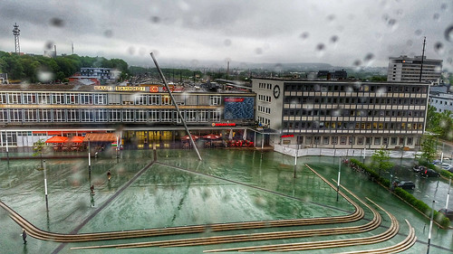 Rainy day - Kassel im Regen