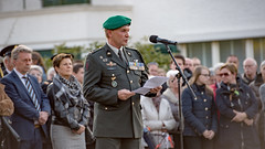 D5A_0955 (Frans Peeters Photography) Tags: roosendaal 4mei dodenherdenking majoor rooijakkers commandotroepen leorooijakkers majoorleorooijakkers